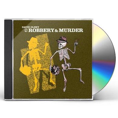 David Olney ROBBERY & MURDER CD