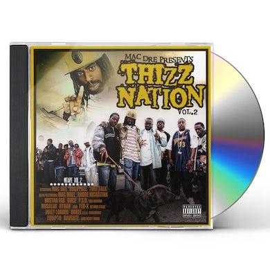 Mac Dre THIZZ NATION 2 CD