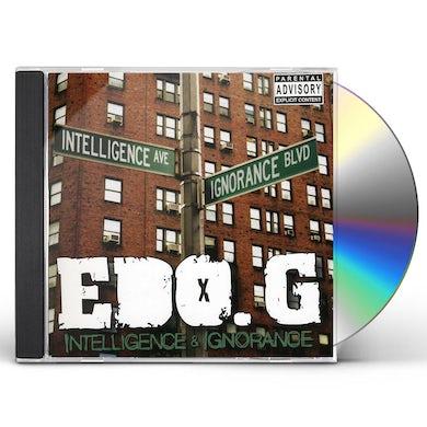 Edo G INTELLIGENCE & IGNORANCE CD