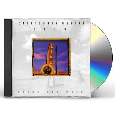 California Guitar Trio ROCKS THE WEST CD