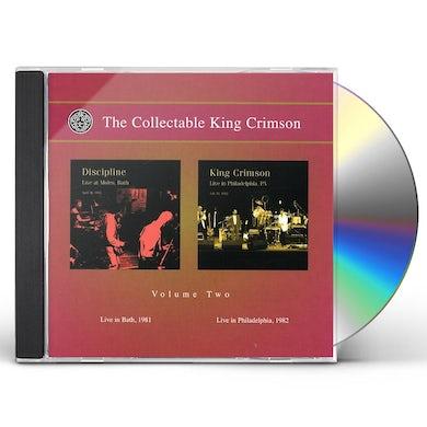 COLLECTABLE KING CRIMSON 2 CD