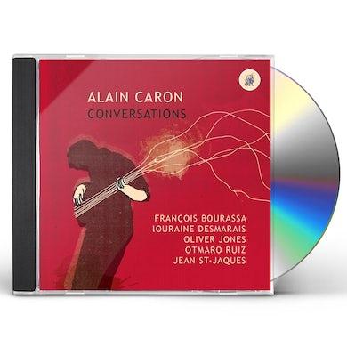 Alain Caron CONVERSATIONS CD