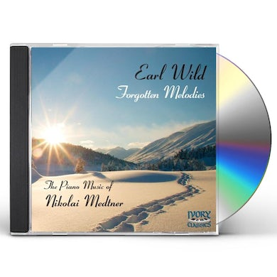 Earl Wild FORGOTTEN MELODIES: PIANO MUSIC OF MEDTNER CD