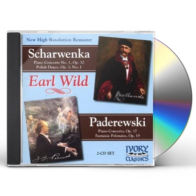 Earl Wild PLAYS PADEREWSKI & SCHARWENKA CD
