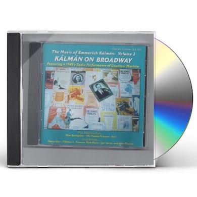 Emmerich Kalman KALMAN ON BROADWAY / Original Soundtrack CD