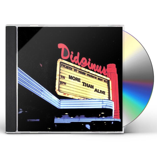 Didginus MORE THAN ALIVE CD