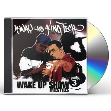 Sway & King Tech WAKE UP SHOW FREESTYLES 3 CD