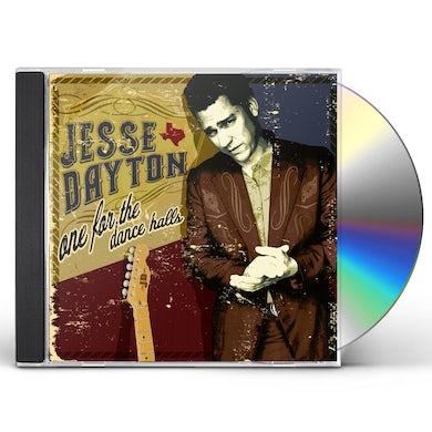 Jesse Dayton ONE FOR THE DANCE HALLS CD