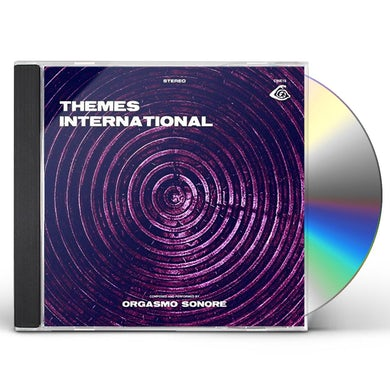 Orgasmo Sonore THEMES INTERNATIONAL CD