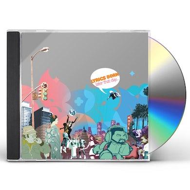 Lyrics Born LATER THAT DAY CD