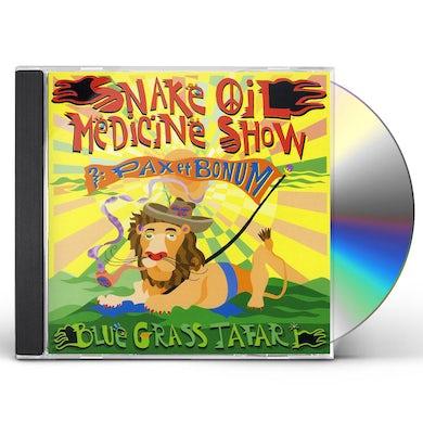 Snake Oil Medicine Show BLUEGRASSTAFARI CD