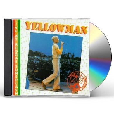 Yellowman LIVE AT REGGAE SUNSPLASH CD