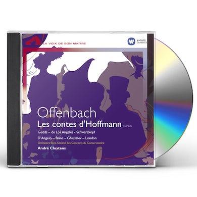 Offenbach CONTES D'HOFFMANN (E) - GEDDA, D'ANGELO, SCHWARZKO CD