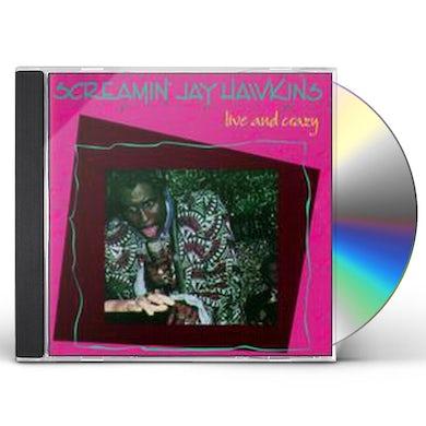 Screamin Jay Hawkins LIVE & CRAZY CD