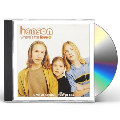 Hanson WHERE'S THE LOVE / LOOK AT YOU CD