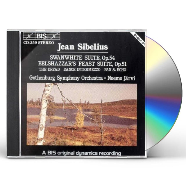 Sibelius SWANWHITE SUITE / BELSHAZZAR'S FEAST CD