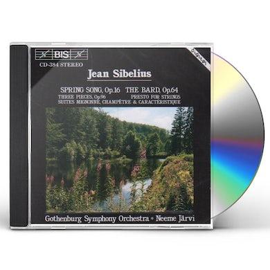Sibelius SPRING SONG / BARD CD