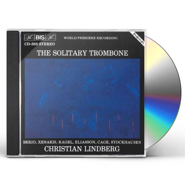 Christian Lindberg SOLITARY TROMBONE CD