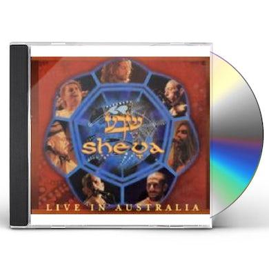 Sheva LIVE IN AUSTRALIA CD
