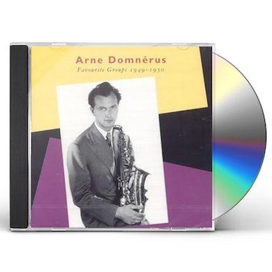 Arne Domnerus FAVOURITE GROUPS CD