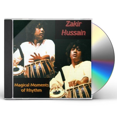 Zakir Hussain MAGICAL MOMENTS OF RHYTHM CD
