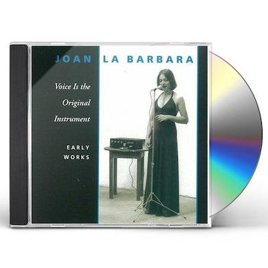 Joan La Barbara VOICE IS THE ORIGINAL INSTRUMENT CD