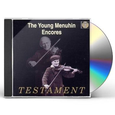 Yehudi Menuhin YOUNG MENUHIN PLAYS ENCORES CD