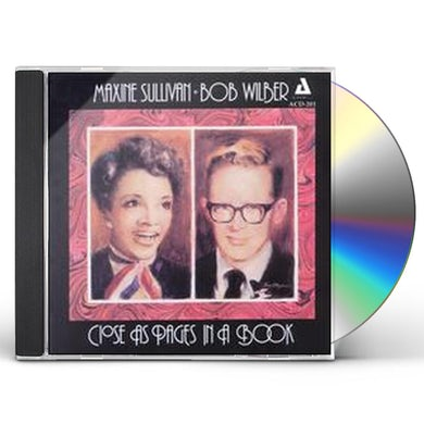 Maxine Sullivan CLOSE AS PAGES IN A BOOK CD