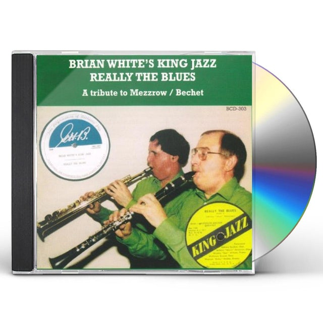 Brian White REALLY THE BLUES CD