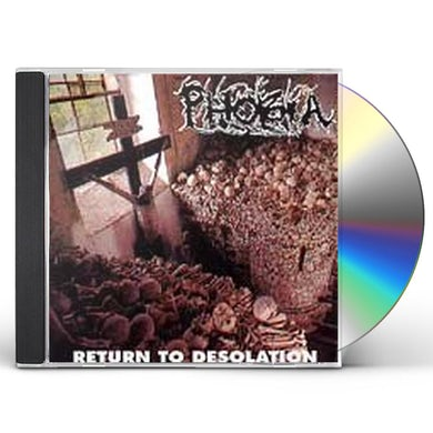 Phobia RETURN TO DESOLATION CD