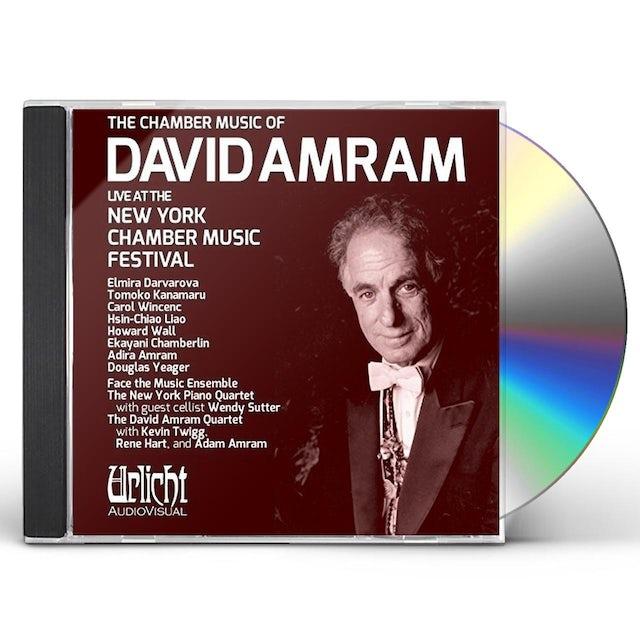 CHAMBER MUSIC OF DAVID AMRAM LIVE AT CD