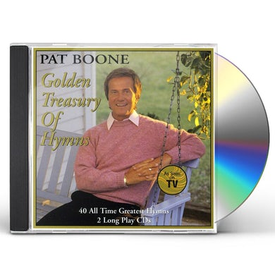 Pat Boone GOLDEN TREASURY OF HYMNS CD
