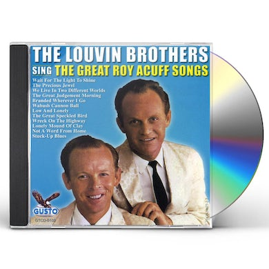 Louvin Brothers SING THE GREAT ROY ACUFF SONGS CD