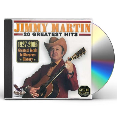 Jimmy Martin 20 GREATEST HITS CD