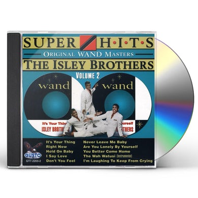 The Isley Brothers SUPER HITS 2 CD