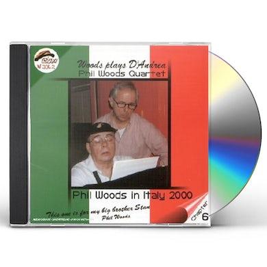 Phil Quartet Woods WOODS PLAYS D'ANDREA CD