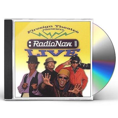 Firesign Theatre RADIO NOW LIVE CD