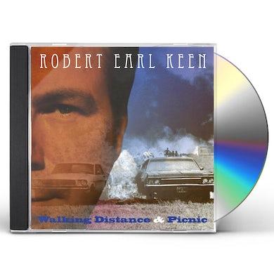 Robert Earl Keen WALKING DISTANCE / PICNIC CD