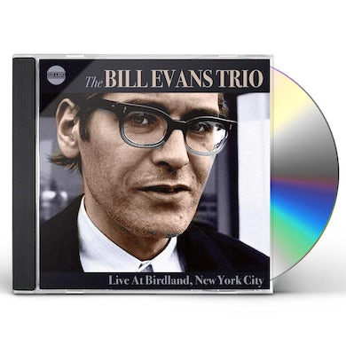 Bill Evans LIVE AT BIRDLAND NEW YORK CITY CD