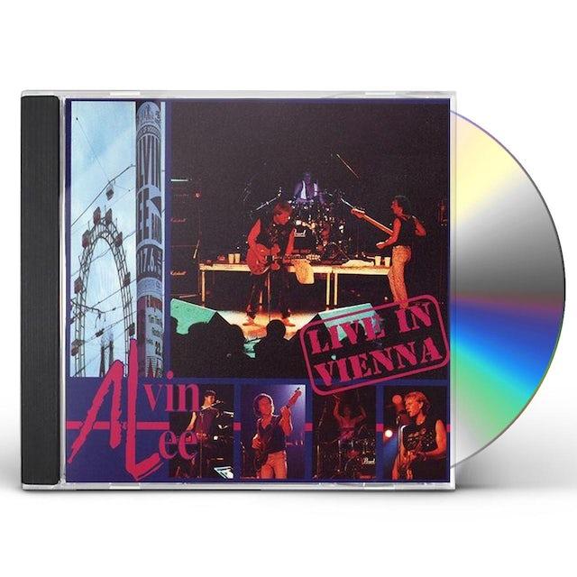 Alvin Lee LIVE IN VIENNA CD