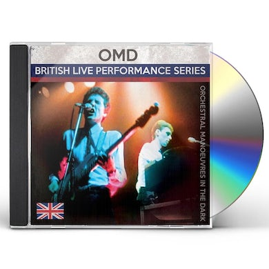Orchestral Manoeuvres in the Dark BRITISH LIVE PERFORMANCE SERIES CD