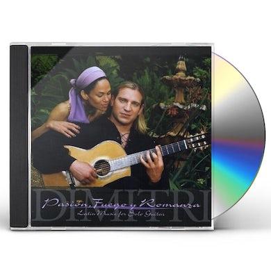Dimitri PASION FUEGO Y ROMANZA: LATIN MUSIC FOR SOLO GUITA CD