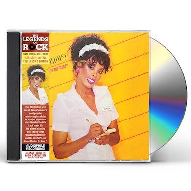 Donna Summer SHE WORKS HARD FOR THE MONEY CD