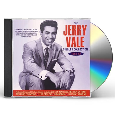 Jerry Vale SINGLES COLLECTION 1953-62 CD