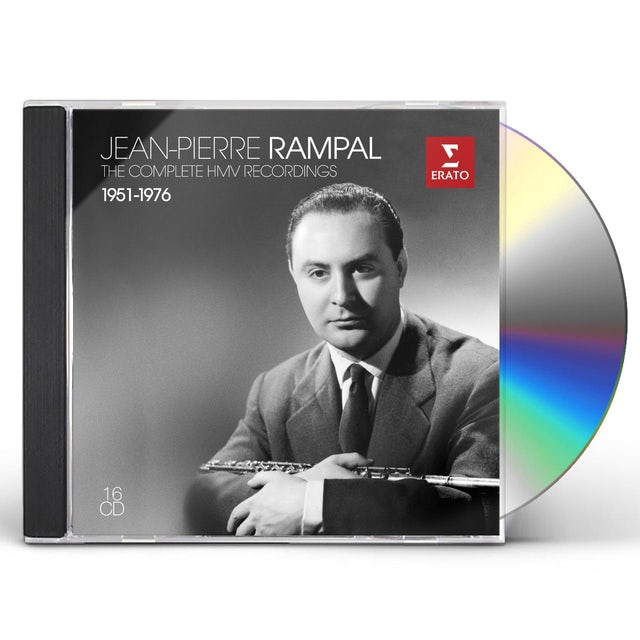 Jean-Pierre Rampal COMPLETE HMV RECORDINGS 1951-1976 CD