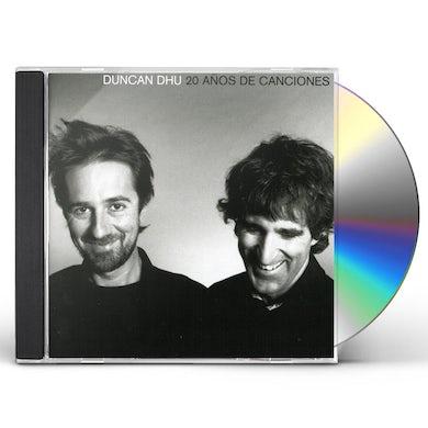 Duncan Dhu 20 ANOS DE CANCIONES CD