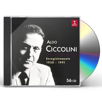 Aldo Ciccolini COMPLETE EMI RECORDINGS 1950-1991 CD