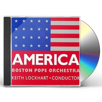 Boston Pops Orchestra AMERICA CD