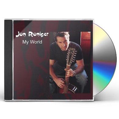 Jon Roniger MY WORLD CD