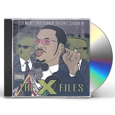 Scholar X FILES CD